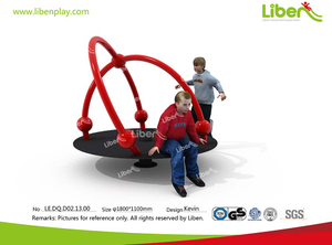Liben Used Playground Equipment Merry Go Round