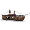 Outdoor Playground Customized Wooden Pirate Ship