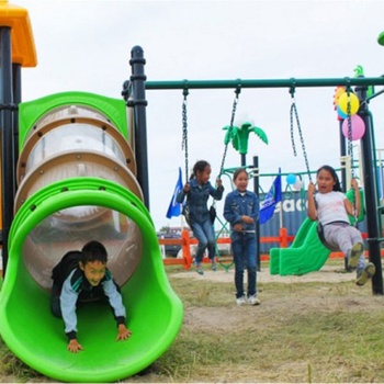 What are the outdoor children's amusement facilities? How to divide it will be better?